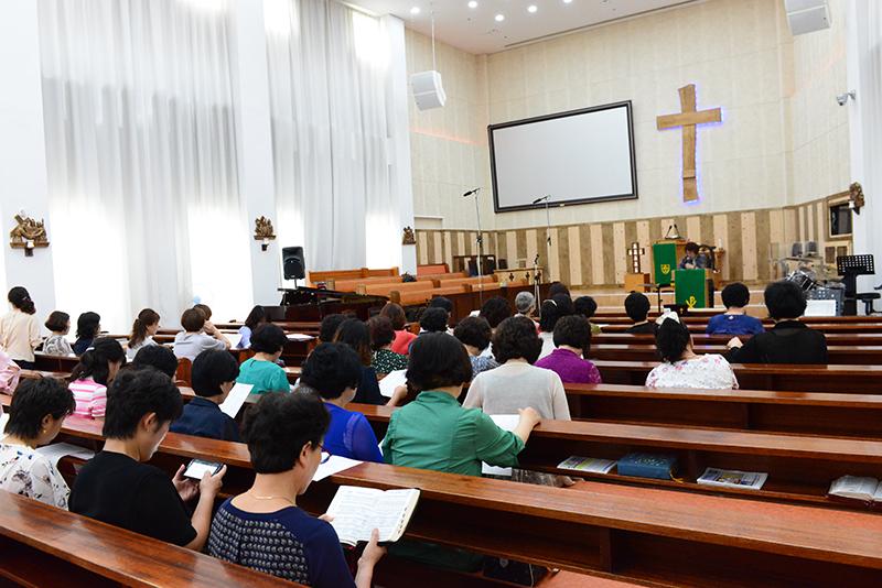 2017년 7월 총여선교회 월례회