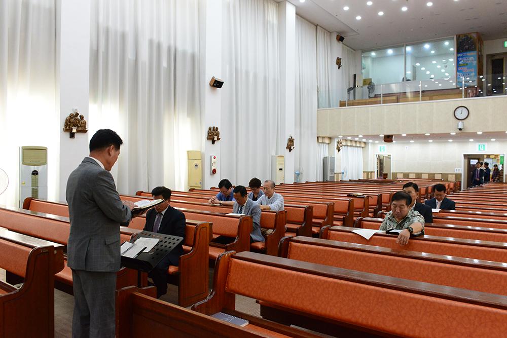 2017년 9월통합남선교회월례회