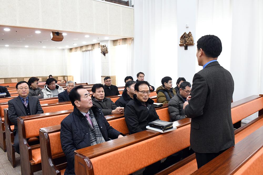 2018년 제1남선교회월례회
