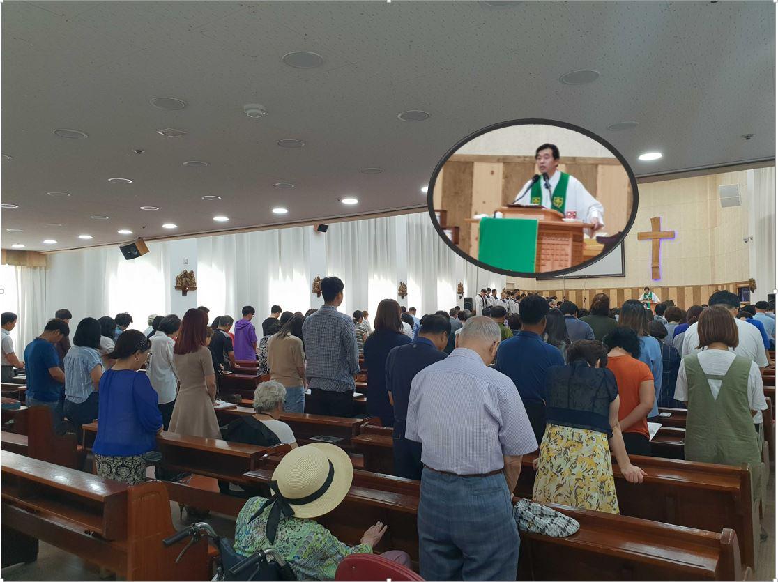 2018년 8월 19일 주내감리교회 주일예배