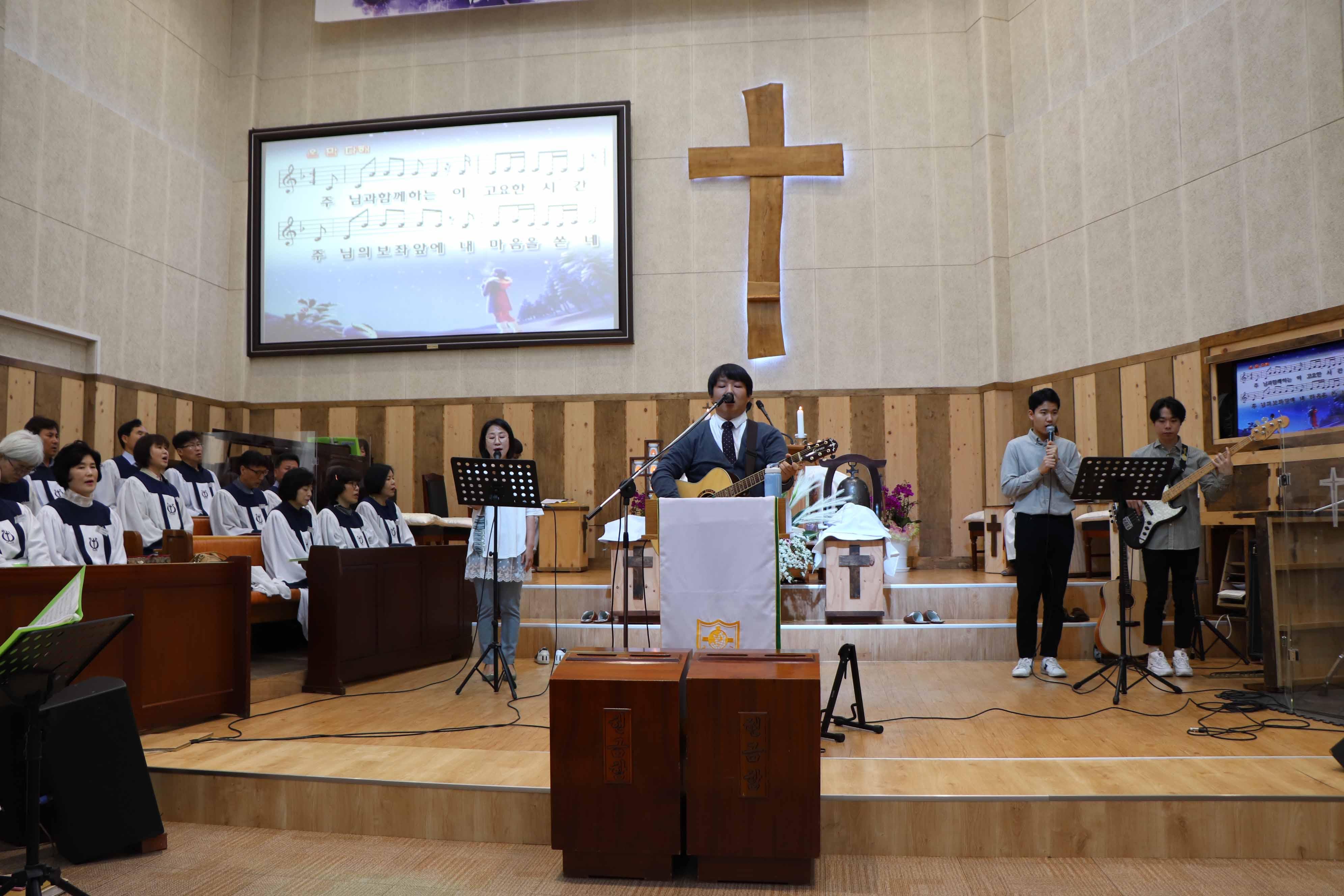 2019년 4월 21일 주내감리교회 주일 예배