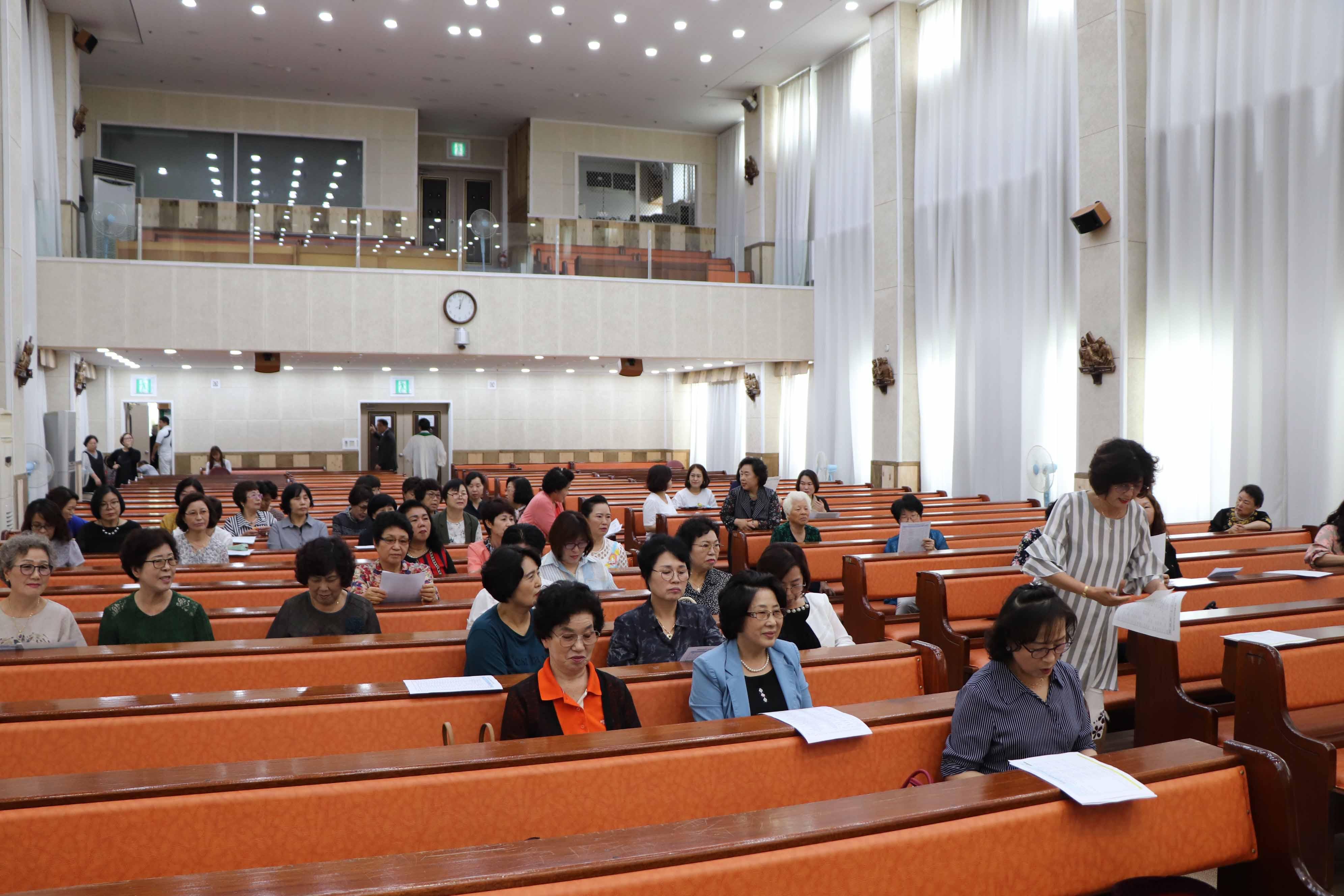 2019년 총여선교회 7월 월례회
