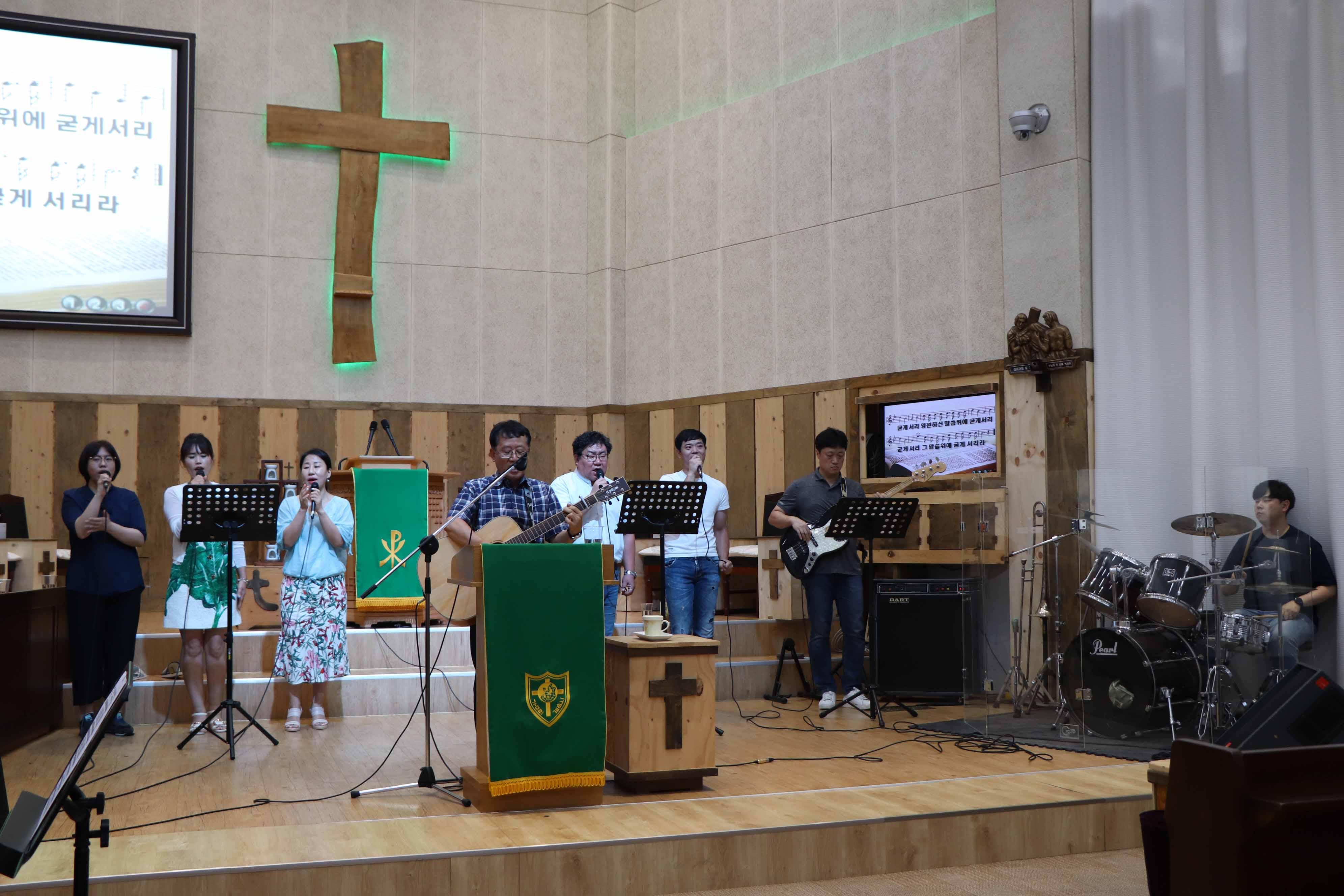 2019년 7월 30일 소망 사랑 샤론 연합속회 헌신예배