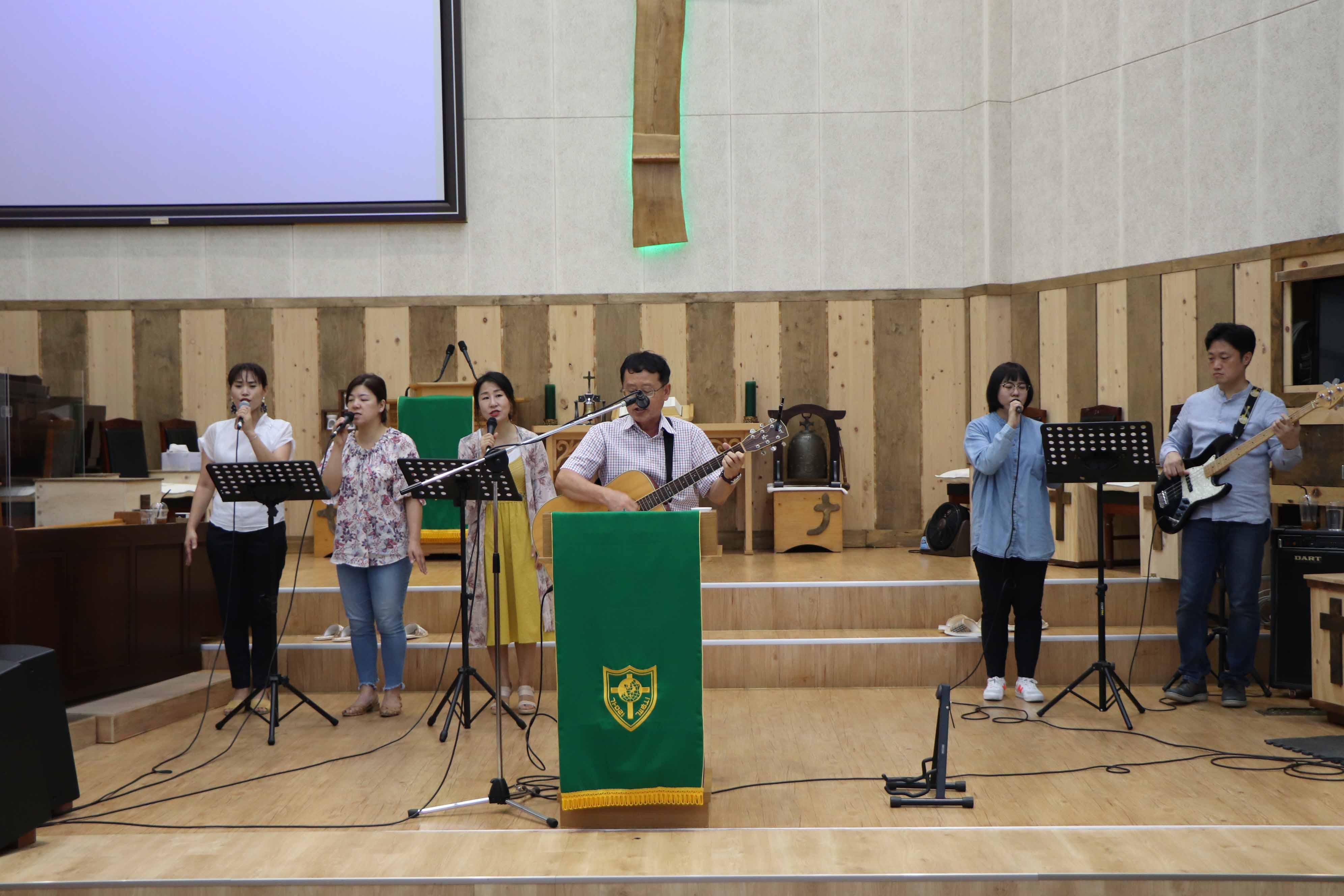 2019년 9월 1일 주일 오후 학생부 헌신예배