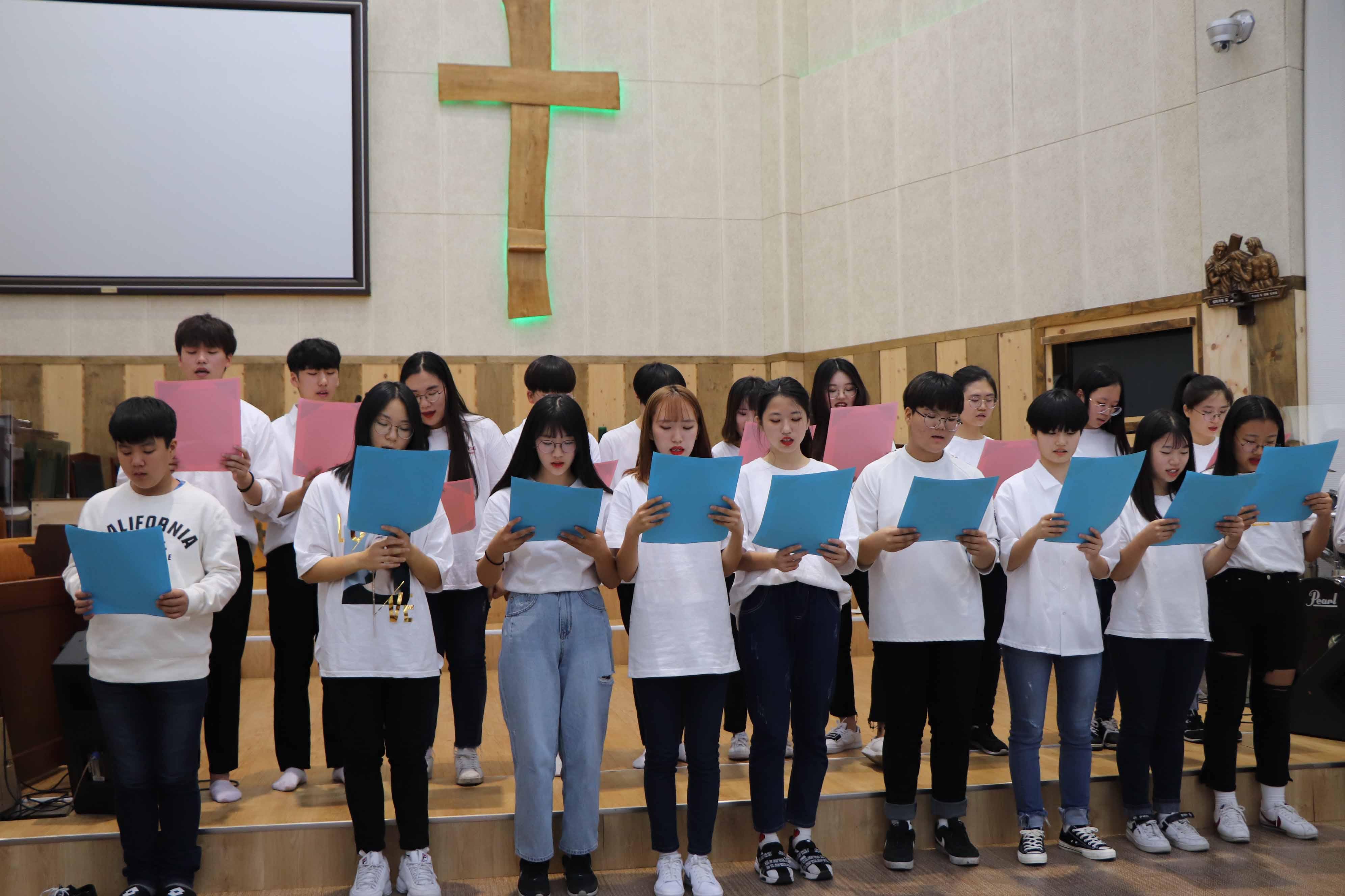 2019년 9월 1일 학생부 헌신예배
