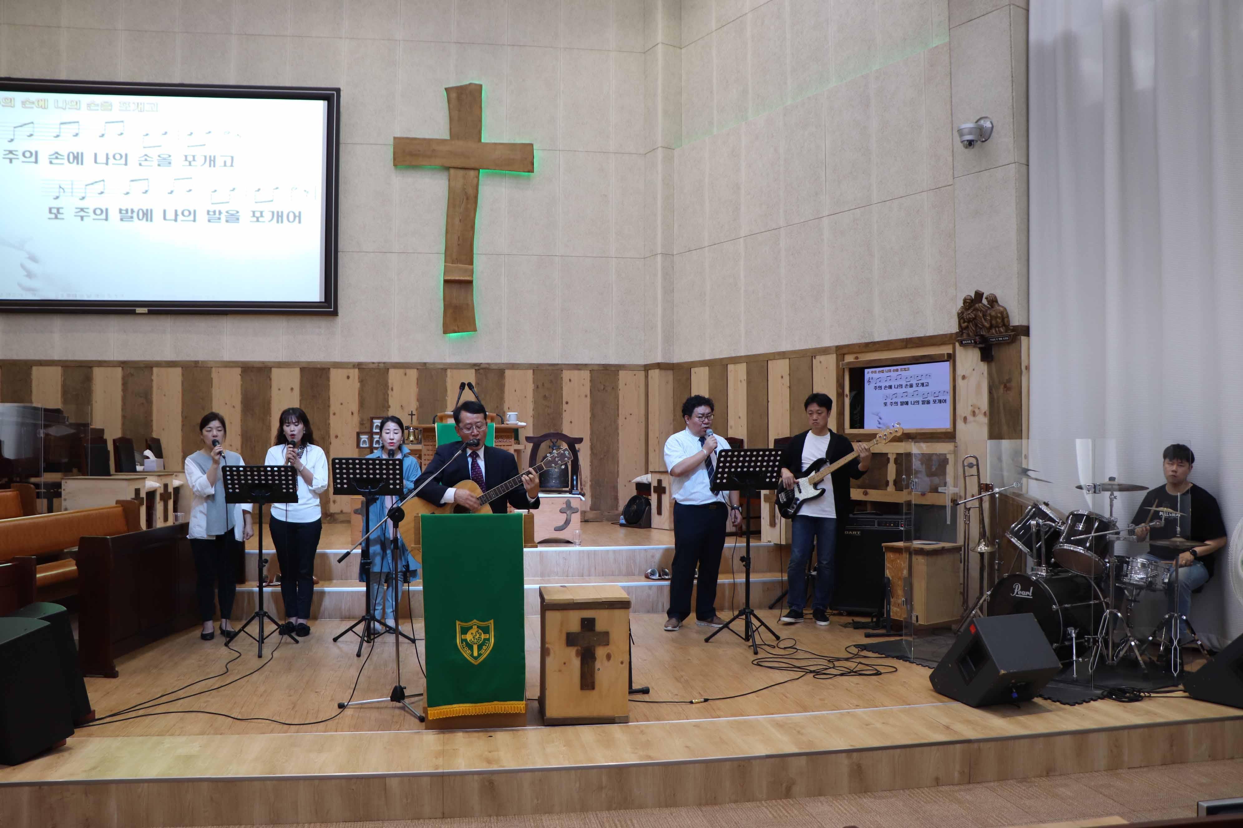 2019년 10월 6일 남자연합속 헌신예배