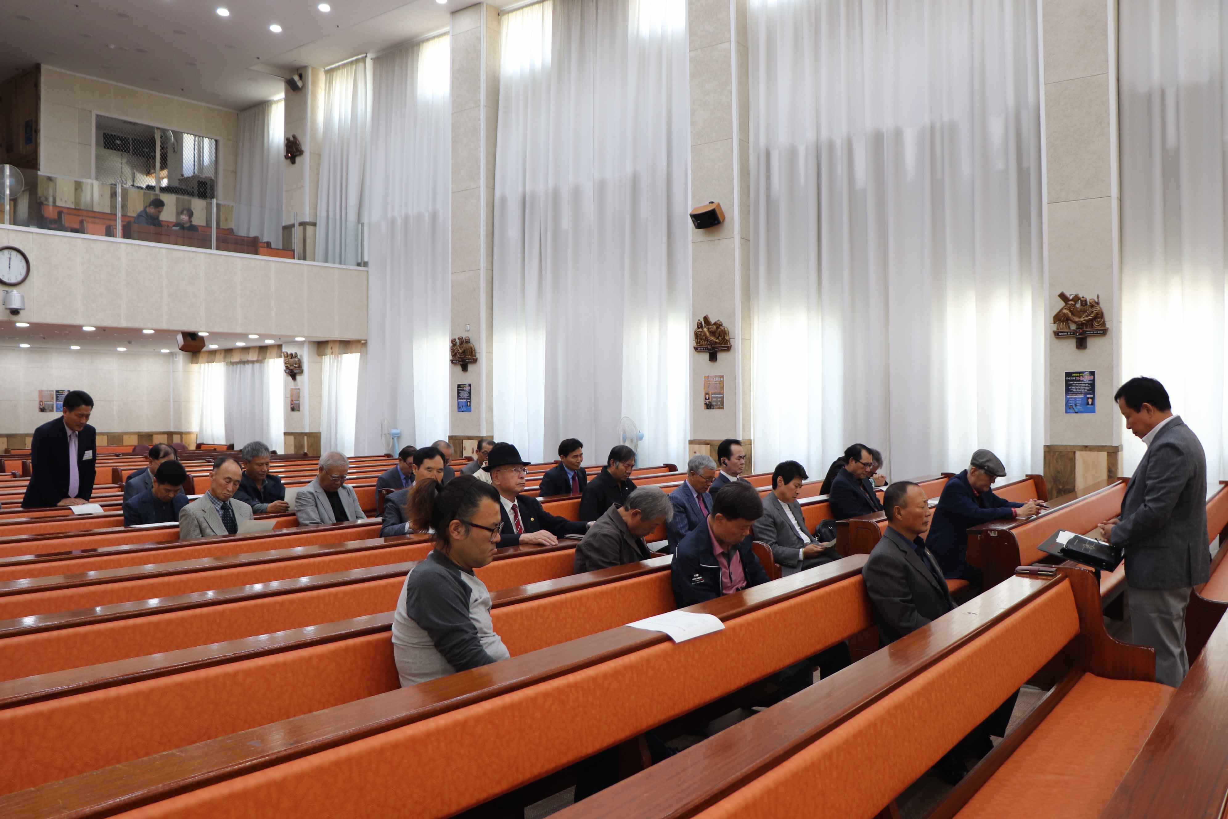 10월 20일 남선교 월례회