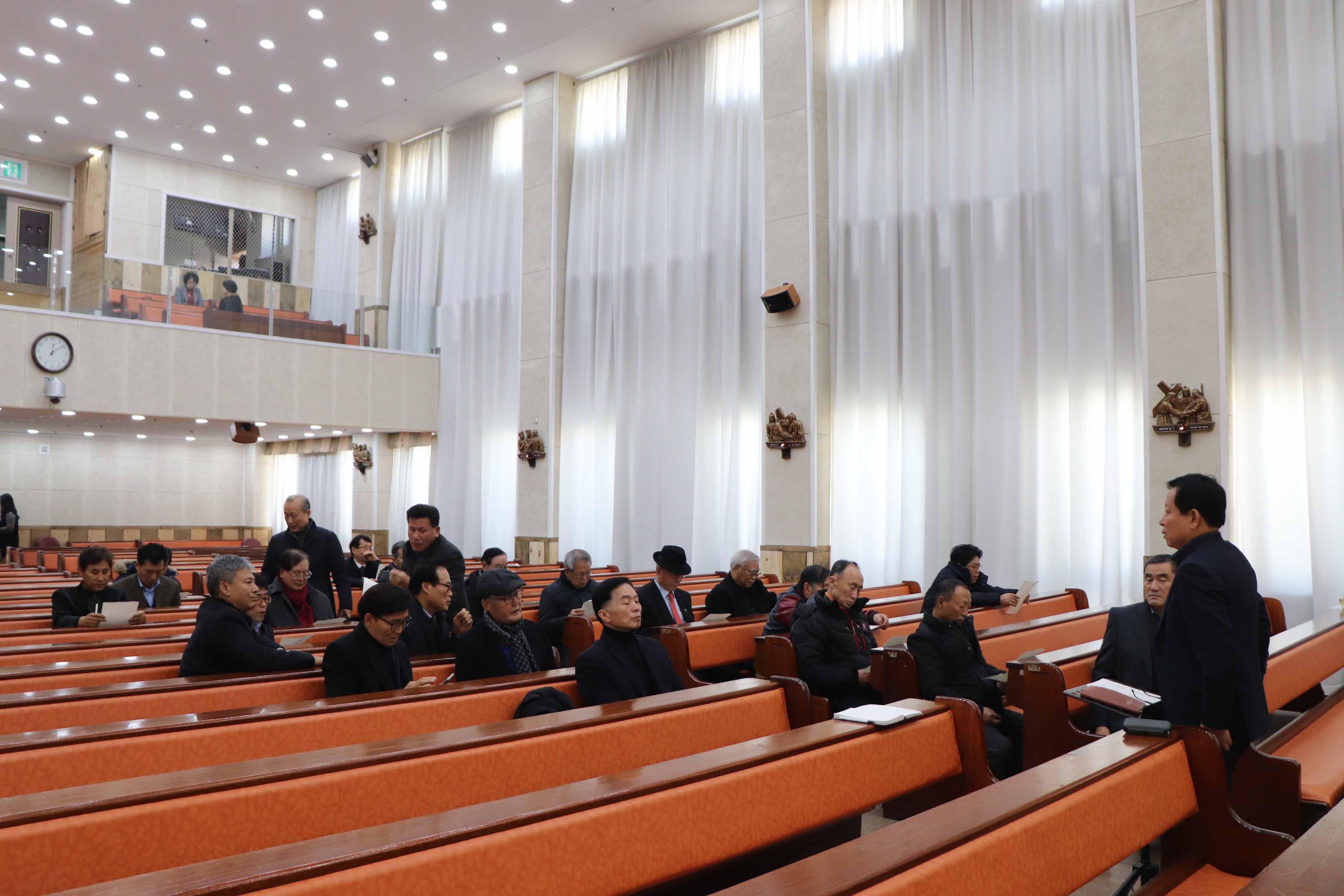 2020년 1월 남선교 월례회
